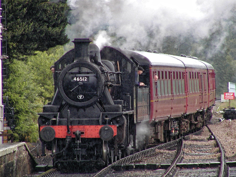 Yesterday's shot of the Strathspey Railway