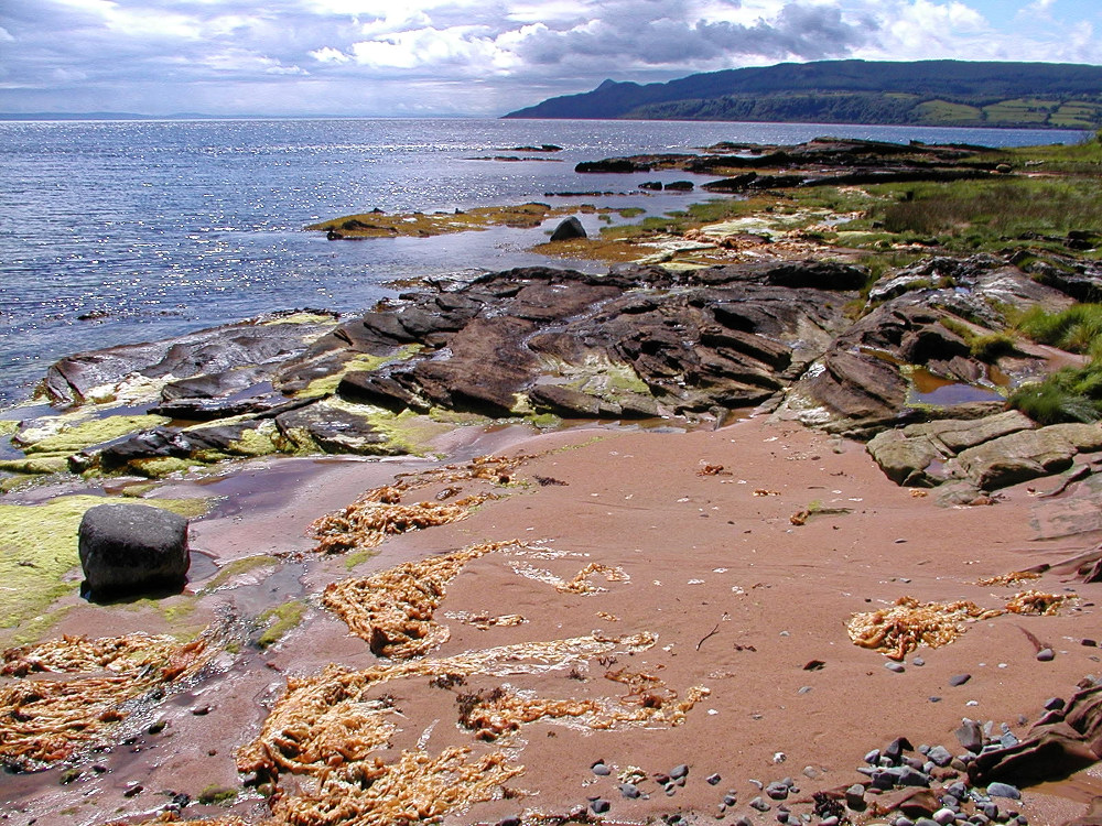The east coast of Arran