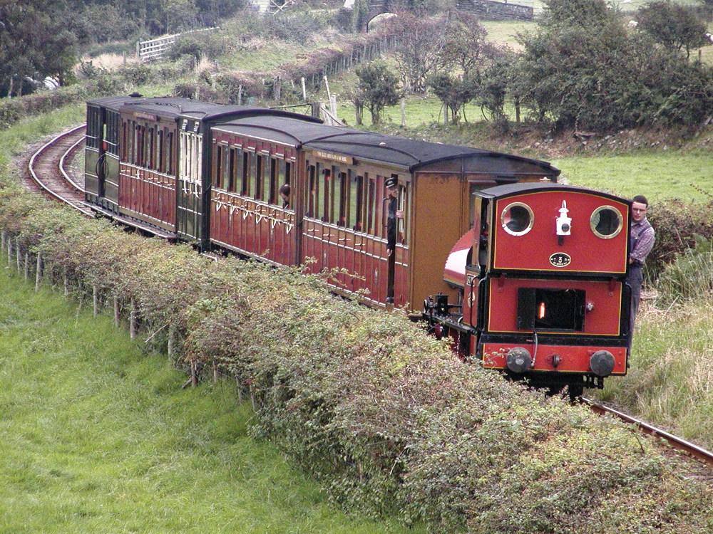 Yesterday's sighting of a Talyllyn railway train