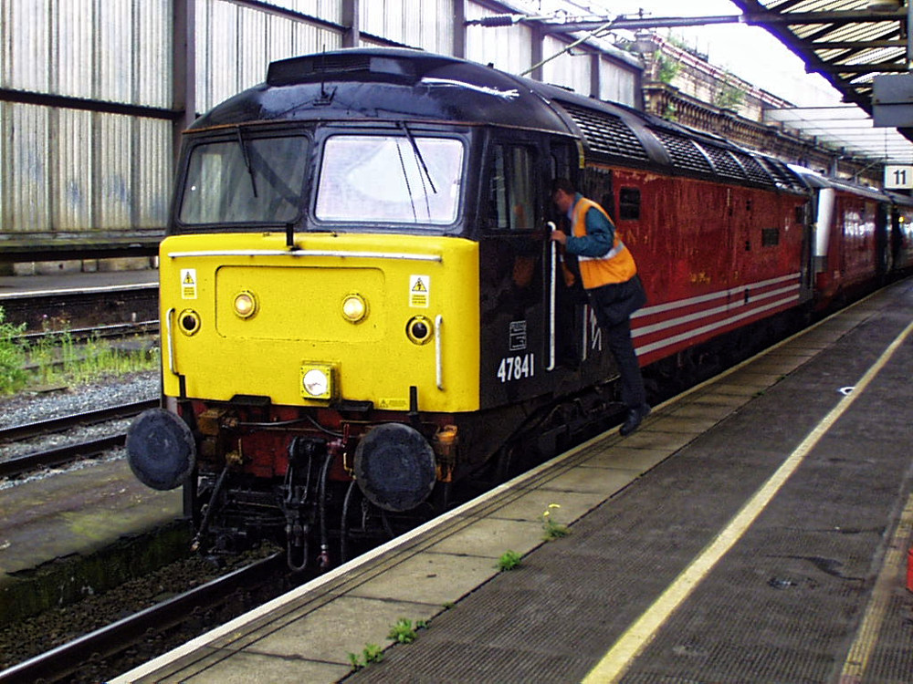 Changing trains at Crewe