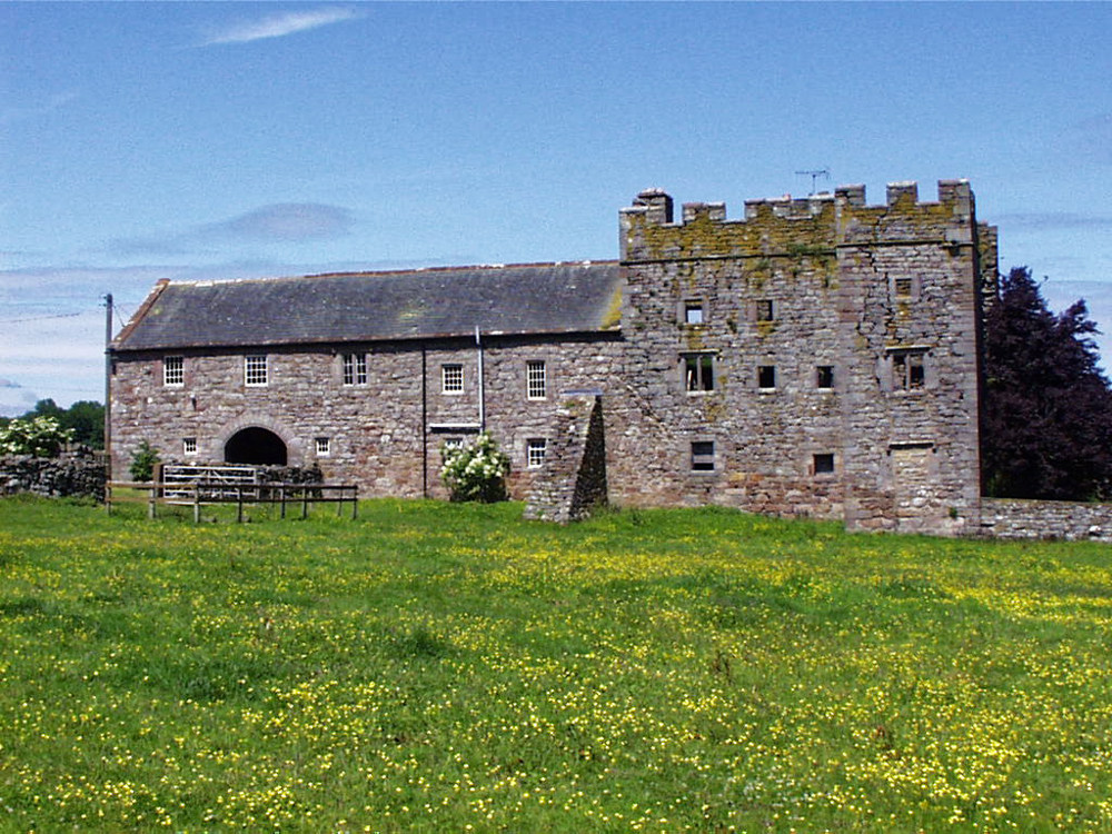 Fortified farmhouse west of Penrith - we saw a few of these on our travels