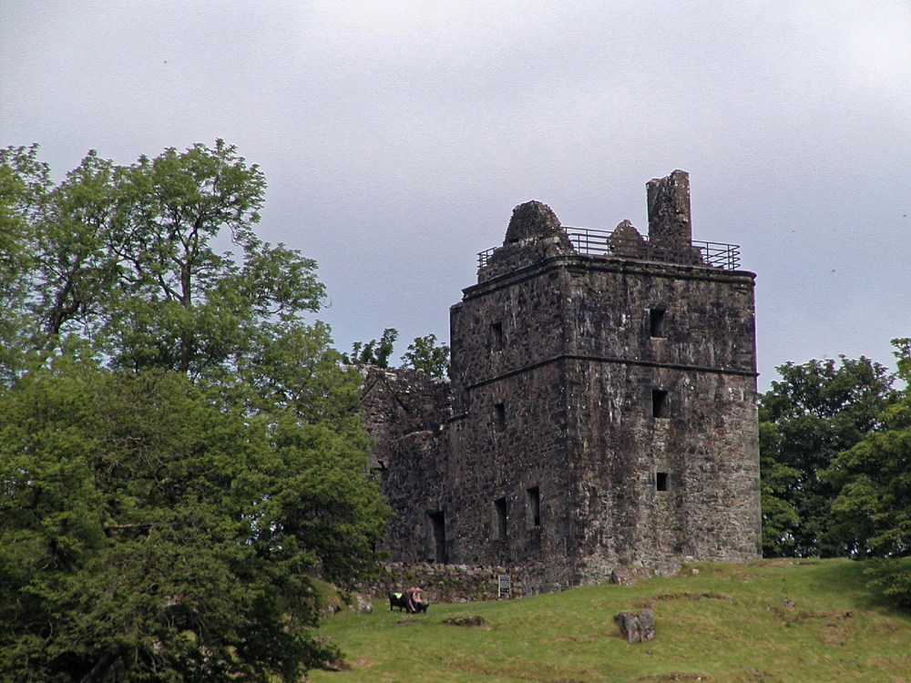 Carnasserie Castle, just outside Kilmartin