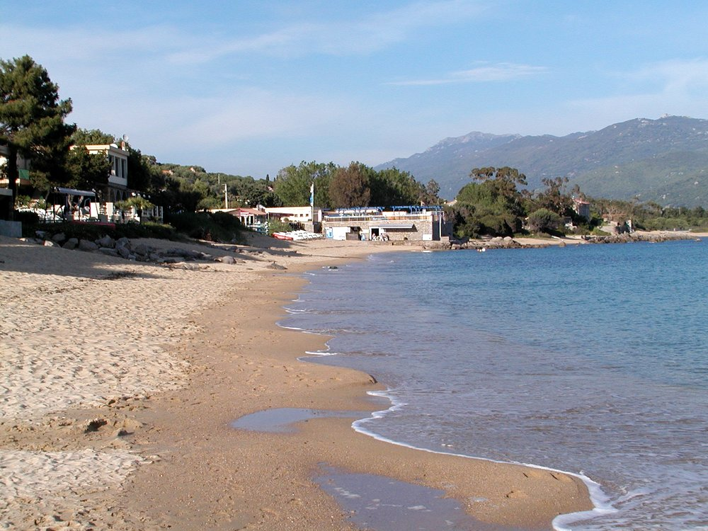 The beach at Porto Pollo