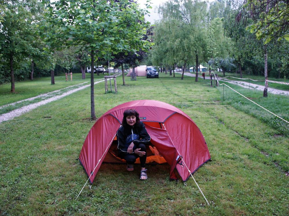 La Isla campsite