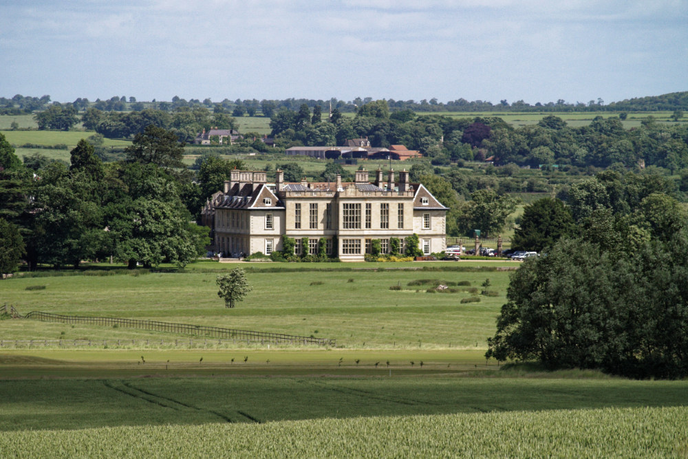 The Stapleford Park estate. Rooms here start from £295 per night.