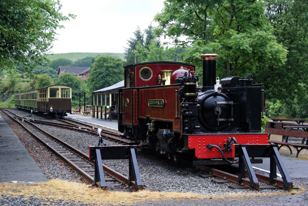 Vale of Rheidol Railway at Devils Bridge