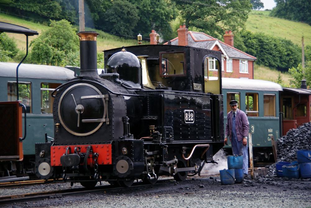 Welshpool and Llanfair Light Railway at Llanfair Caereinion