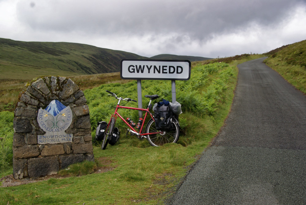 Back in Gwynedd and the National Park