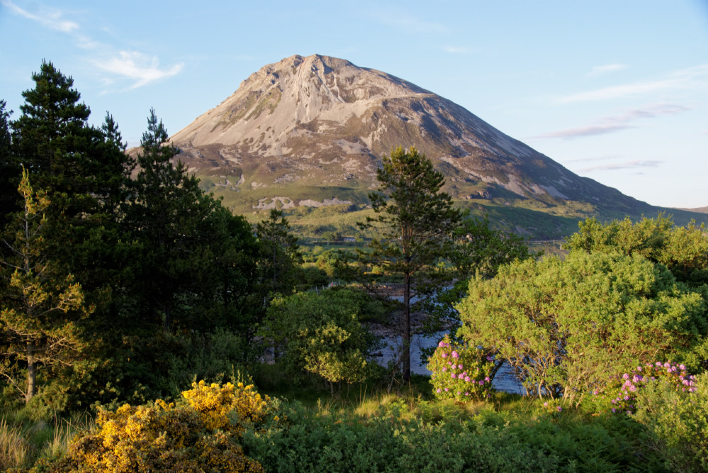 Mount Erigall, which lies behing the An Oige hostel.