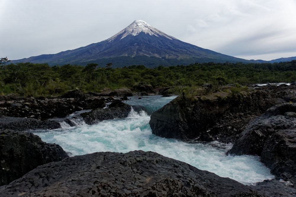 Volcan Osorno from Petrohue