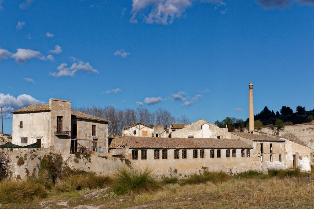 Abandoned factory in Alcoy