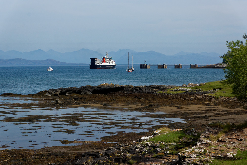 Kinloch harbour, Isle of Rum
