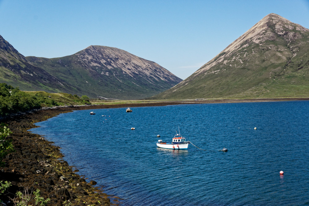 Loch Slapin, on the road to Elgol